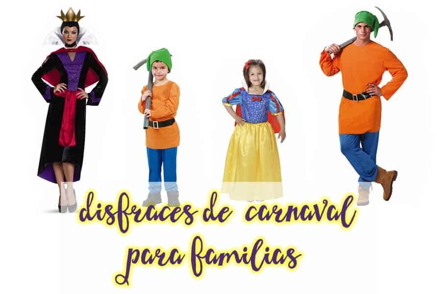 disfraces en familia para Carnaval