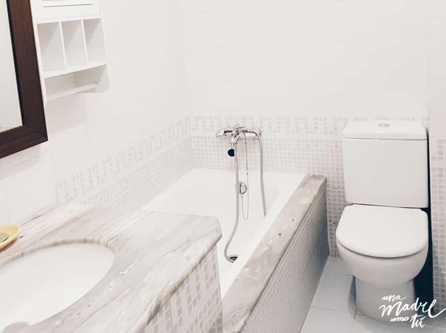 el baño de mi anterior piso