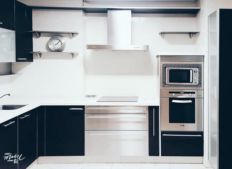 la cocina de mi piso
