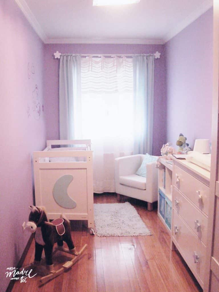 dormitorio de bebé en mi anterior piso