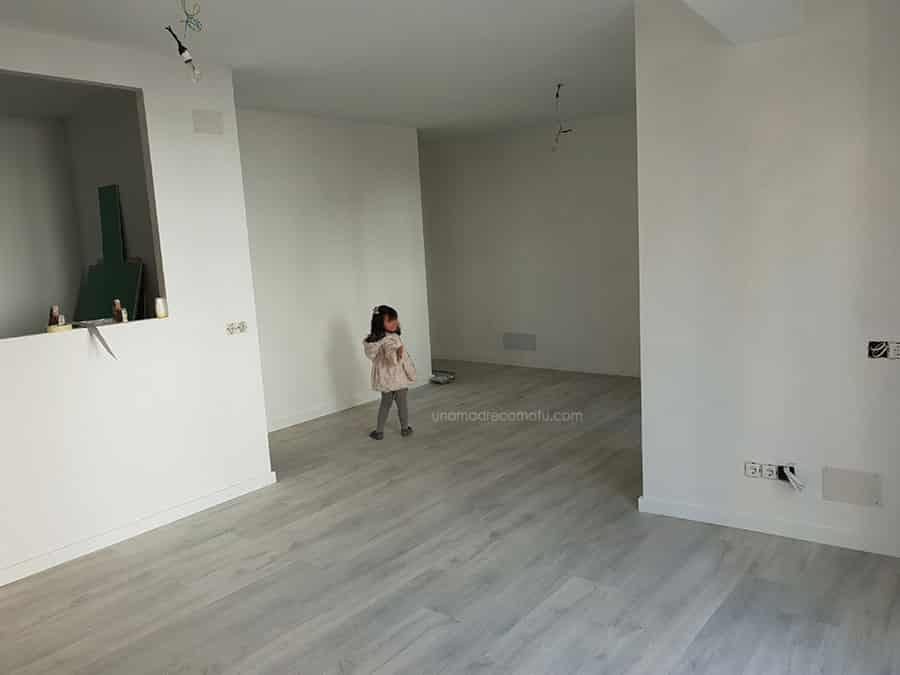 salón reformado