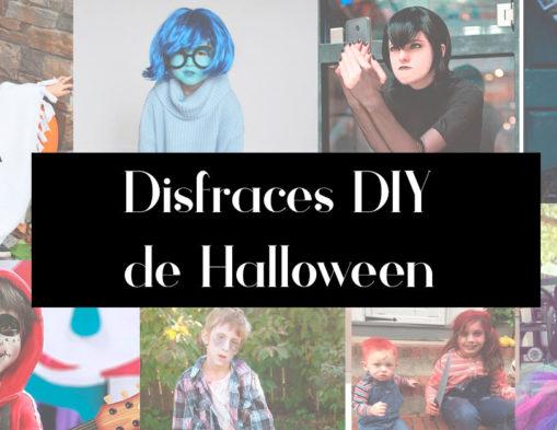 disfraces diy Halloween para niños y niñas
