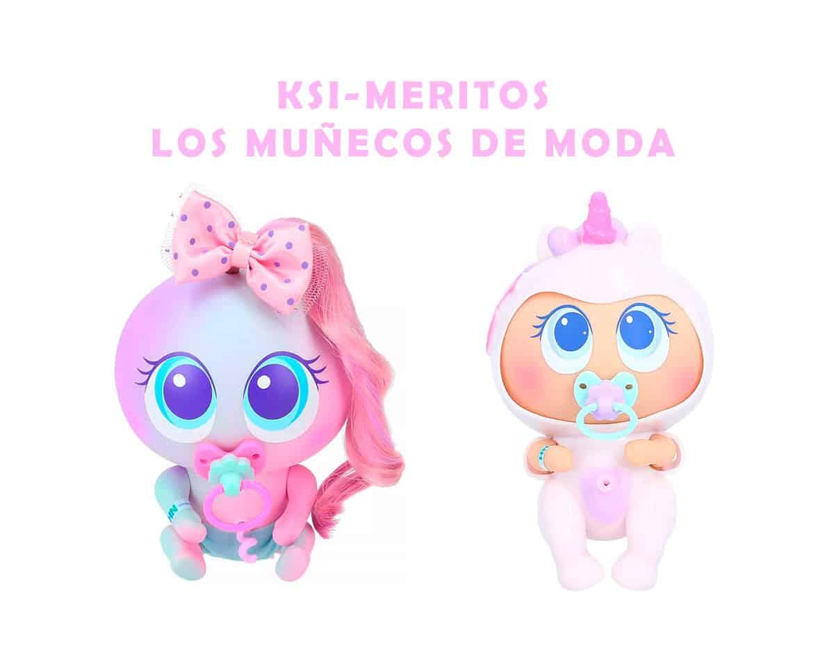 ksi-meritos muñecos de moda