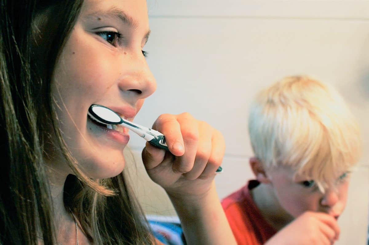 cuidado dental niños y niñas