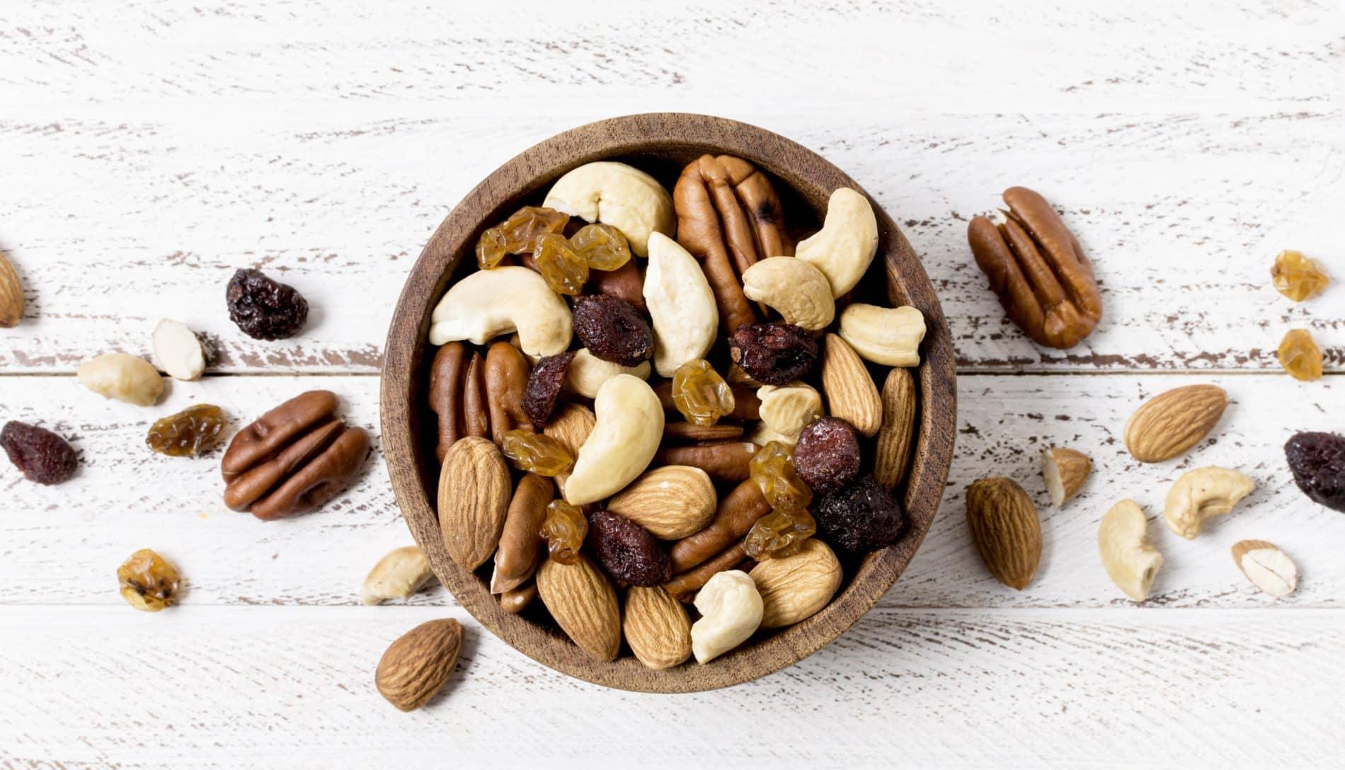 Beneficios de los frutos secos para mujeres embarazadas