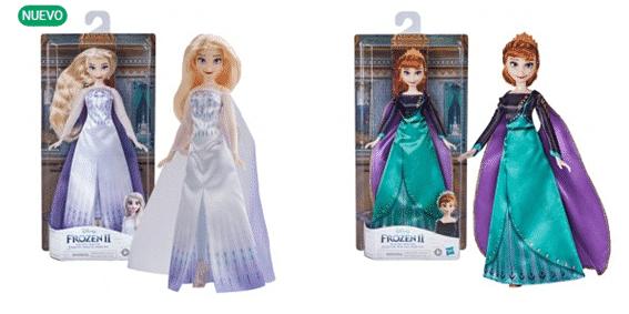 muñecas princesas frozen
